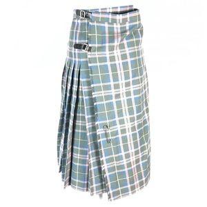 The scotch house plaided wool skirt kilt